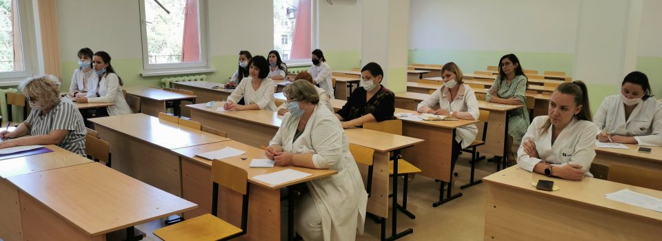 Первое заседание кафедры в новом учебном году